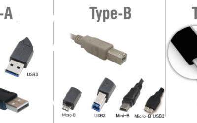 USB csatlakozók típusai