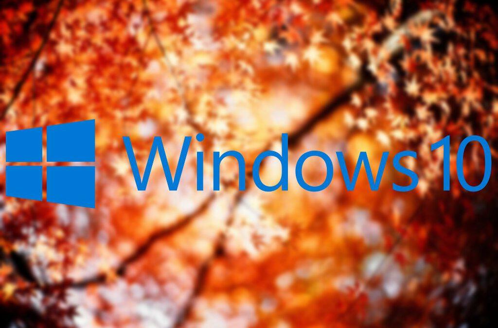 Érkezik a Windows 10 őszi frissítése